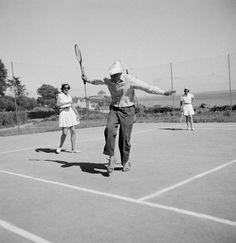 "Jacques Tati in ""Les Vacances de Monsieur Hulot"""