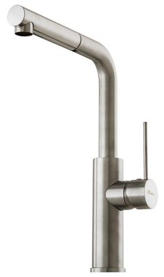 Shop Online for Oliveri Oliveri Brushed Mito Pullout Mixer and more at The Good Guys. Grab a bargain from Australia's leading home appliance store. Home Appliance Store, Water Efficiency, Mixer Taps, Accessories Store, A Good Man, Sink, Chrome, It Is Finished, Home Appliances