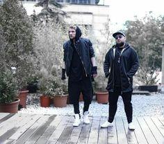 Jan Meyer und Cengiz Drogul ApeCrime Dat Adam, Bomber Jacket, Guys, Jackets, Fashion, Down Jackets, Moda, Fashion Styles, Sons