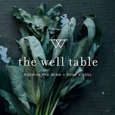 a little peek of the new brand for @thewelltable, a sweet Denver-based business all about slowing down, finding holistic balance & creating nourishing recipes. what a dream to work with Leigh, creating and refining her identity & direction! friends, go follow @thewelltable for the new launch so, so soon!