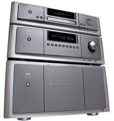 ahhh....I love the smell of electronics in the morning - NAD audio system