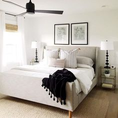 6 Brilliant Tips: Traditional Minimalist Home White Walls minimalist bedroom apartment wall art.Minimalist Decor Bathroom Tubs minimalist home interior natural light.Rustic Minimalist Home Projects. Home Decor Bedroom, Modern Bedroom, All White Bedroom, Bedroom Inspirations, Home Bedroom, Bedroom Interior, Bedroom Makeover, Home Decor, Small Bedroom