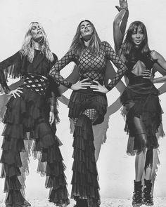 Claudia, Cindy & Naomi, by Steven Klein.