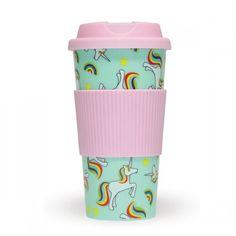 Mug de Voyage Licorne. Kas Design, distributeurs de produits originaux