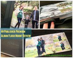 MyPublisher Premium Album Flush Mount and Design Service Review – PhotoBookGirl.com