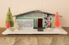Midcentury ranch house, Merry Christmas!