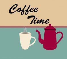 Retro Coffee Pot háttér