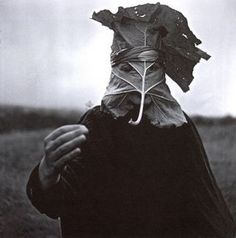 Franek Strzeszewski, Village theatre… in the burdock masque Masker Photo Portrait, Masks Art, Totems, Green Man, Mask Design, Most Beautiful Pictures, Monochrome, Theatre, Creepy