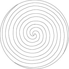 Handy to have a pre-drawn swirl.