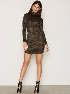 Sparkling Off Duty Dress from Nelly.com
