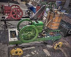 Found at Helldarado Days in Tombstone, AZ   John Deere Hit'N'Miss Engine 1.5 HP Put to Good Use | Flickr - Photo Sharing!