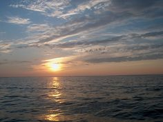 sunset off Wildcat Marsh
