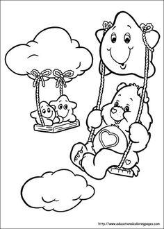 Go Back > Gallery For > Care Bear Coloring Pages