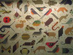 Charley Harper Tiles.