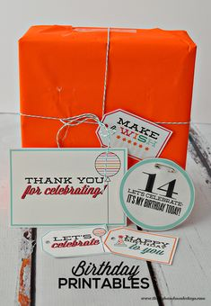 Fun Birthday Printables- Tags + Thank You Notes Thomas Hopkins Provost Birthday Tags, Birthday Fun, Birthday Ideas, Party Printables, Free Printables, Printable Tags, Today Is My Birthday, Messages, Party Planning