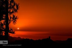 Sunset in Gran Canaria by Miguel-Diaz #photo  via Twitter @AlistairReign & AlistairReignBlog.com