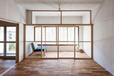 藤田雄介(Camp Design inc.)による布框戸を用いて改修された団地内の住戸「roka」 — Medium