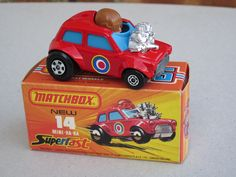 Matchbox Superfast Mini HaHa Check more funny stuff here. I guarante more fun and jokes all the time! 70s Toys, Retro Toys, Vintage Toys, Childhood Toys, Childhood Memories, Volkswagen, Old School Toys, Matchbox Art, Hot Wheels Cars