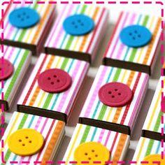 Fazendo a festa: Festa temática: botões