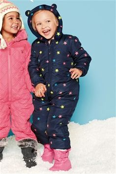 Buy Navy Star Snow Suit (3mths-6yrs) from the Next UK online shop