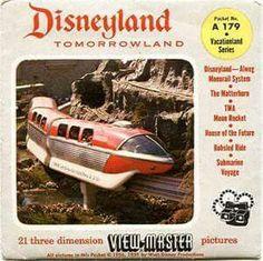 Disneyland GAF Viewmaster disks 3d Disneyland Photos, View Master, Vintage Disney, Masters, Walt Disney, 3d Printing, Nostalgia, The Past, Childhood