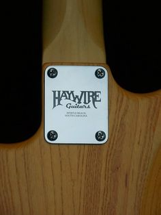 Haywire Custom Guitars-Tony C-2 | www.haywirecustomguitars.c… | Flickr Guitar Body, Custom Guitars, Phone Cases, Phone Case