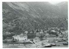 Eidfjord, Hardanger, Hordaland. Foto: Telemark Flyselskap A/S