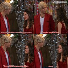 Disney Channel Austin and Ally. Ross Lynch and Laura Marano. Austin Moon and Ally Dawson. Auslly. Christmas ♡