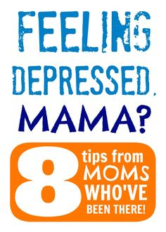 Feeling Depressed, Mama?  Find 8 Tips from REAL Moms Who've Been There! #Sponsored by #Lifescript at B-InspiredMama.com