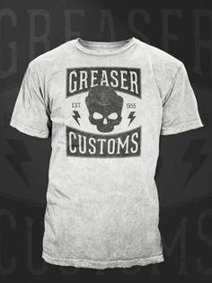 Greaser T - Shirt design