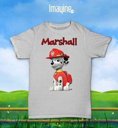 Camiseta La Patrulla Canina (Marshall)