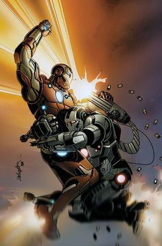 Iron Man vs War Machine