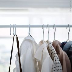 S Hooks Closet Organizer Ideas | Chic Ideas In Organizing Bedroom Closets, Clothing and Accessories