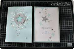 exclusive exquisite Menukarte Stampin'Up! ... lässt sich auch sehr schön zur Weihnachtskarte abwandeln :)