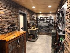One of our customers did an amazing job on their gallowtech gun room!
