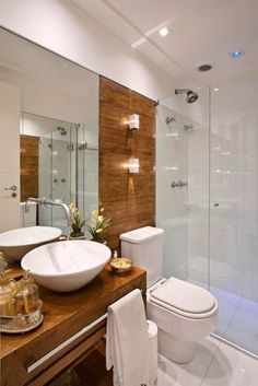 One of the Most Overlooked Options for Contemporary Bathroom Leafy Wallpaper - walmartbytes Bathroom Design Small, Bathroom Layout, Bathroom Interior Design, Home Interior, Wc Decoration, Toilet Design, Bathroom Trends, White Rooms, Beautiful Bathrooms