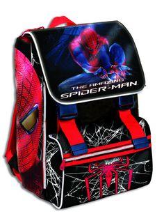 Zaino elementari Spiderman estensibile