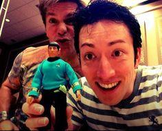 "Todd Haberkorn & ""Tiny Spock"" with Vic Mignogna - Star Trek Continues"