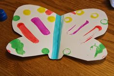 Toddler Approved!: Easy Butterfly Craft for Toddlers