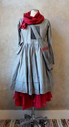 Layered linen/cotton