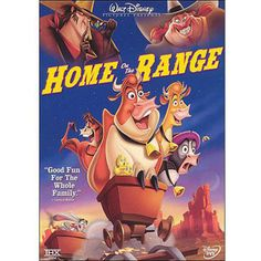 Rent Home on the Range starring Roseanne Barr and Judi Dench on DVD and Blu-ray. Get unlimited DVD Movies & TV Shows delivered to your door with no late fees, ever. Film Disney, Disney Movies, Disney Pixar, Em Breve Nos Cinemas, Roseanne Barr, Childhood Movies, Home On The Range, Disney Home, Family Movies