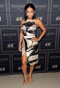 Christina Milian....Balmain H&M Launch 11/4/2015