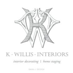 K Willis interiors Logo by emma j design