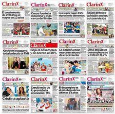 """Melisa Ailén Monzón (@_kiwimelon):   """"Cuando Cristina habla mal de Clarín se olvida de todos los años en que fueron amigos"""""""