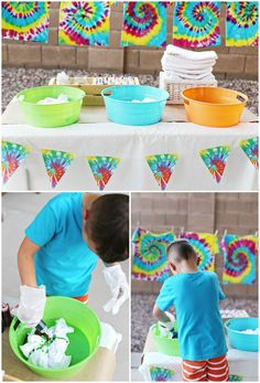 5 Tie Dye Party Tips for Kids - Fun Birthday Party Idea Fête Tie Dye, Tie Dye Party, Tie Dye Kit, Hippie Birthday, Art Birthday, Turtle Birthday, Turtle Party, 13th Birthday Parties, Birthday Party Themes