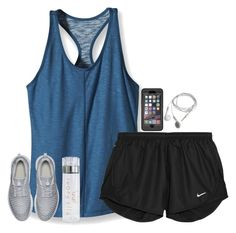 """workout!!"" by hmcdaniel01 ❤ liked on Polyvore featuring Patagonia, NIKE and OtterBox"