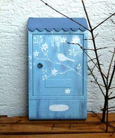 Briefkasten.... JanuarKristall von KirSchenrot via dawanda.com