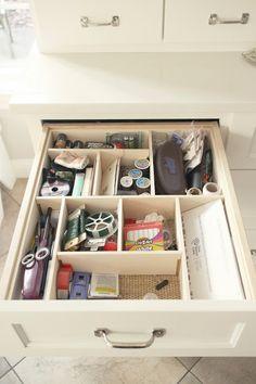 Custom drawer dividers. A DIY tutorial on using balsa wood to make ...
