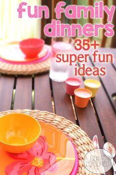 Nothing builds family unity faster than fun! Why stick with the same old family dinners? Spice it up a bit with these 35+ Super fun ideas for your next family dinner. You can make lasting memories with little effort!