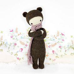 Bina The Bear Amigurumi Pattern - http://pinterest.com/Amigurumipins
